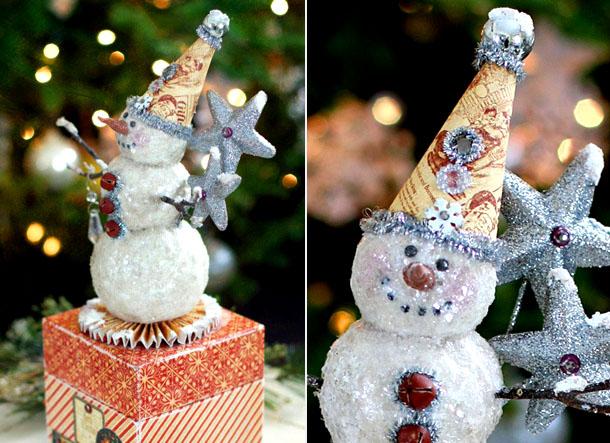 Оригинальное украшение класса на Новый год