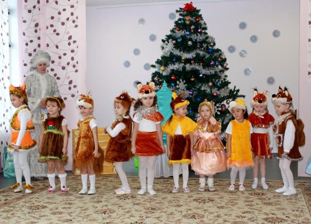 Новогодний сценарий утренника для детского сада