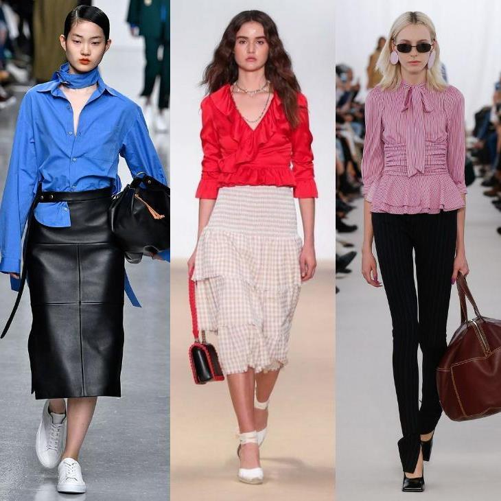 Сексуальные блузки от модельеров и дизайнеров