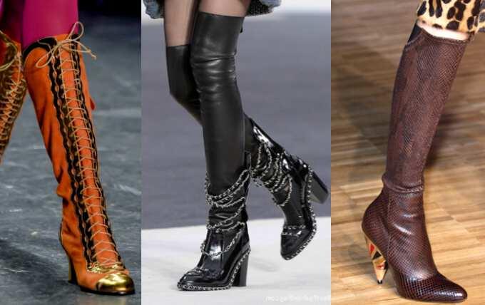 Женские сапожки на каблуке: виды и негласные правила выбора