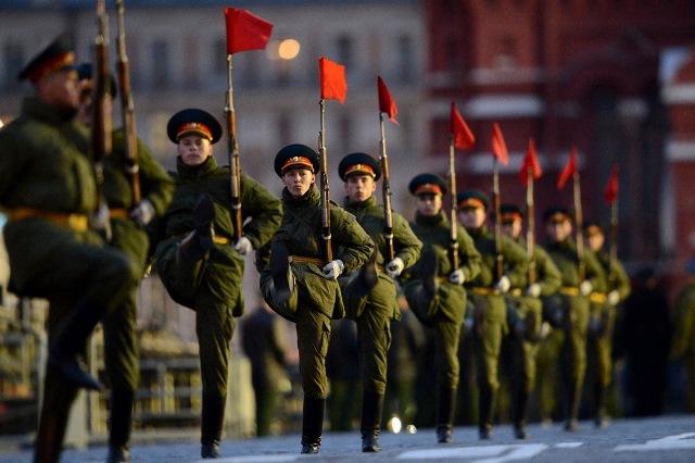 Photo of Репетиция Парада Победы в Москве