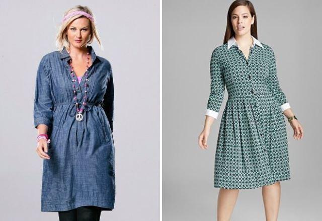 Модные платья-рубашки весна-лето 2019 года