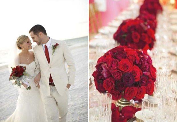 Photo of Свадьба в цвете марсала