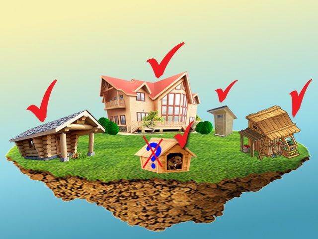 Какие дачные дома не облагаются налогом