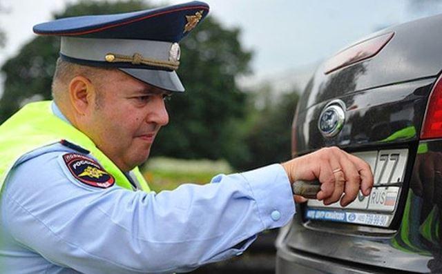 Photo of Запрет на съем номеров с автомобилей