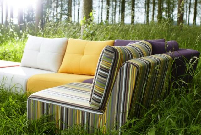 Как выбрать ткань для уличной мебели?
